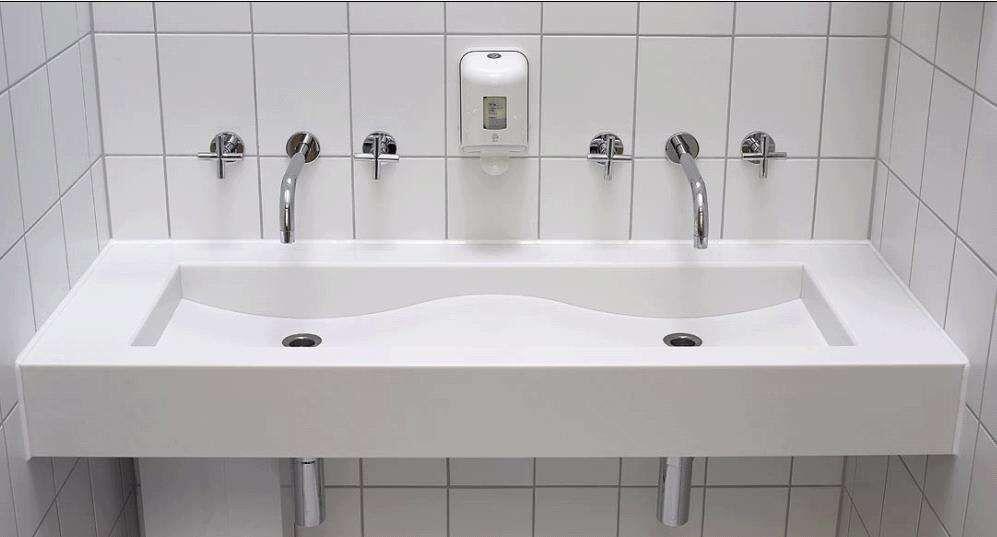 人造石阳台洗衣盆 公寓宿舍洗衣池 洗漱台 人造石卫生间台面