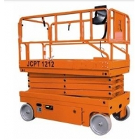 JCPT1212全电动高空平台,自行剪叉式升降机,12米高空