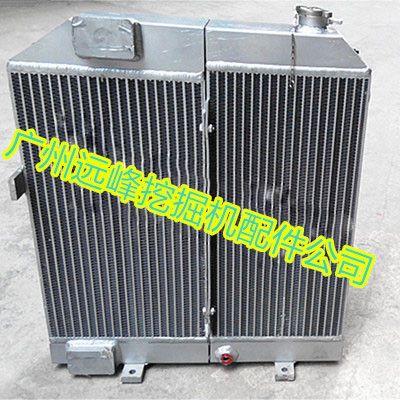 玉柴85-8挖掘机液压油散热器图片