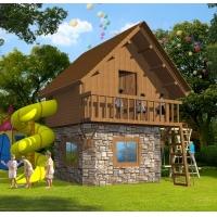 儿童小木屋