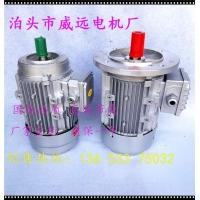 铝壳三相异步电动机  Y2-7124-4级0.37kw大法兰