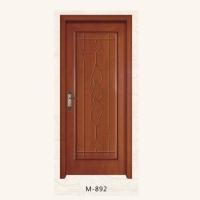 满堂红木门-玻璃门