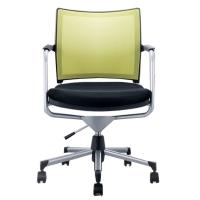 时尚舒适网布靠背办公椅职员椅会客椅转椅
