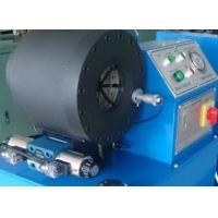 新型建筑钢材压管设备-wz型一体锻打式油缸压管机