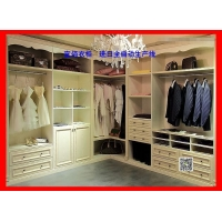 广东衣柜品牌:宜佰衣柜,进口全自动生产线,品质稳定