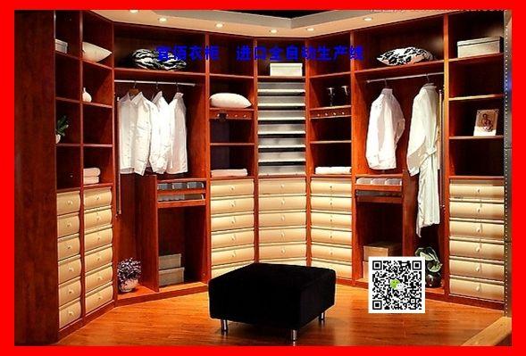 欧式移门吸塑门板宜佰衣柜,进口全自动生产线,品质稳定