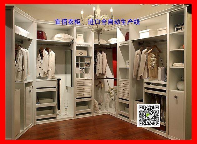 定制衣柜,整体衣柜壁柜品牌:宜佰衣柜,进口全自动生产线