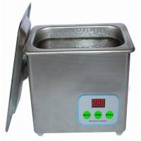 1620D数控全不锈钢防腐蚀单槽超声波清洗机