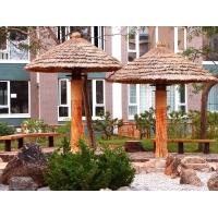 防腐木凉亭、碳化木凉亭、塑木凉亭