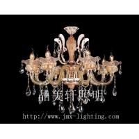金色蜡烛水晶灯富丽堂餐厅水晶灯