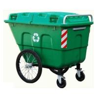 昆明塑料垃圾桶 推车式垃圾桶500L