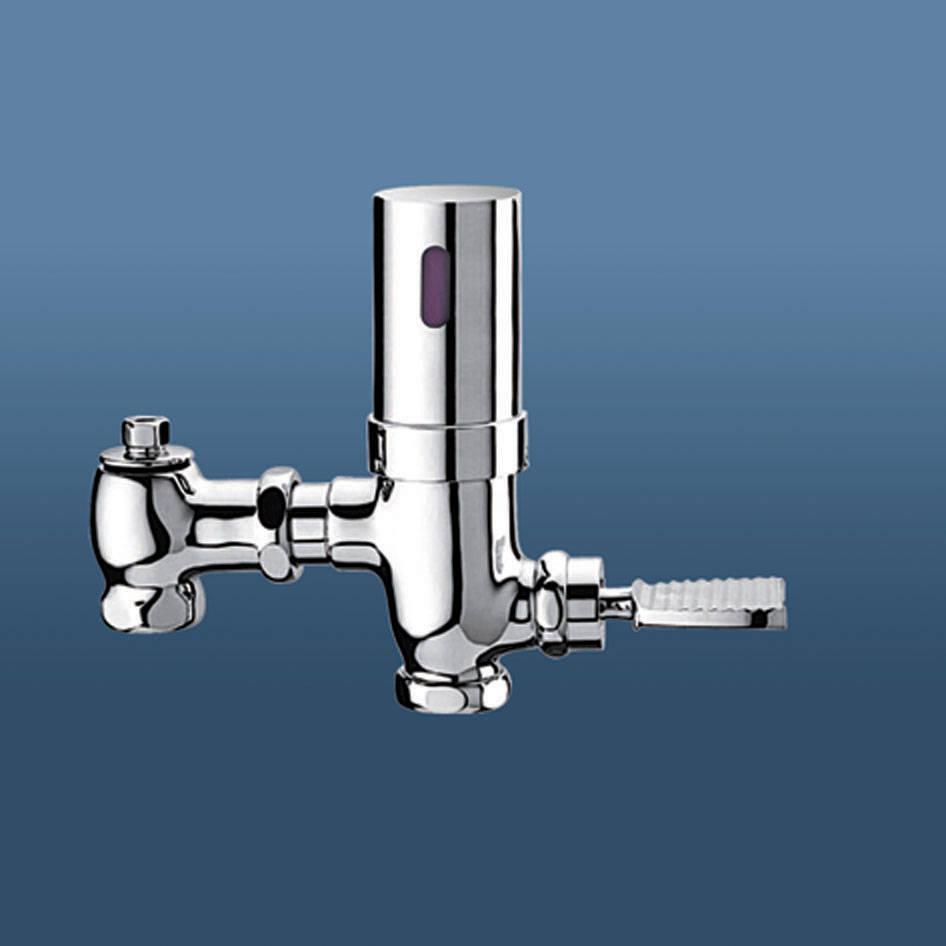 康纳洁具-感应器系列-大便感应冲洗阀图片