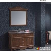 四川浴室柜 美家新实木浴室柜 仿古实木浴室柜 mjx8014