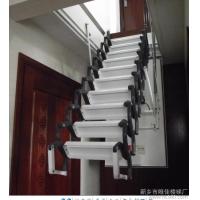 伸缩楼梯厂家 北京伸缩楼梯价格及图片 阁楼电动楼梯价格