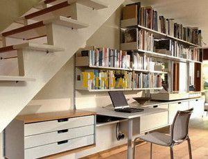 小复式楼梯下设计 楼梯下空间最新设计效果 小空间楼梯价格