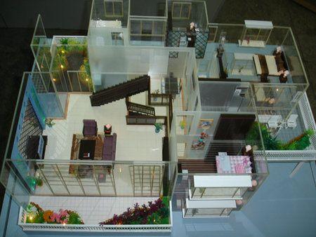土木工程建筑模型