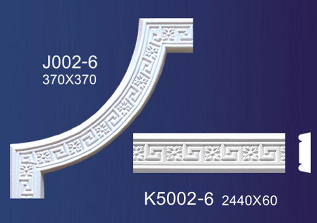 南京石膏线条-花角平线-南京绿岛装饰