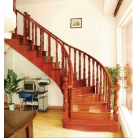 重庆仿古楼梯 实木楼梯 雕花楼梯 防腐木楼梯