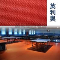 天津英利奥健身房地胶羽毛球乒乓球塑胶地垫