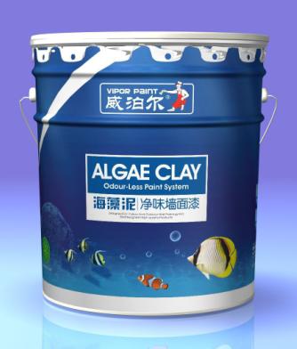 供应威泊尔漆 海藻泥净味环保墙面漆