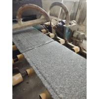 河南梨花白 G735花岗岩 灰色石头 毛光板批发 广场石 地