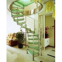南京柏雅居楼梯-南京钢木楼梯
